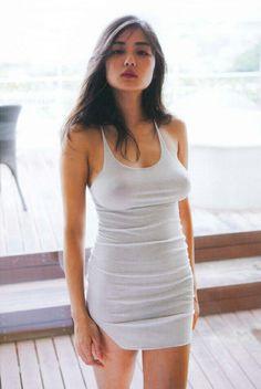 Moemi Katayama Asian dress