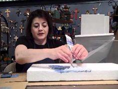 Department 56 Workshop Water Display