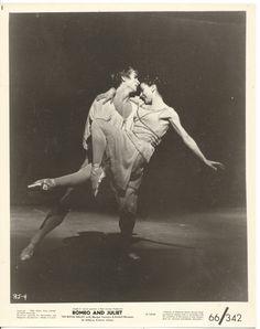 Rudolf Nureyev Margot Fonteyn Romeo and Juliet 1966 8x10 Original Photo CC12194…