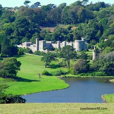 Caerhays Castle, Cornwall, UK History and beauty on the Cornish Coast... and the largest collection of magnolias in England