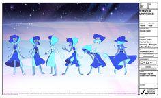 Steven Universe Model Sheet | Lapis Lazuli (Healed Gem)