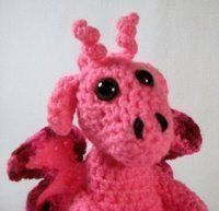 Pinkie the dragon - free pattern