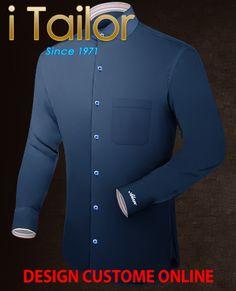 Design Custom Shirt 3D $19.95 chemises blanche Click http://itailor.fr/shirt-product/chemises-blanche_it512-1.html