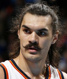 Oklahoma City's Steven Adams during an NBA basketball game between the Oklahoma City Thunder and the Orlando Magic at Chesapeake Energy Arena in Oklahoma City, Wednesday, Feb. 3, 2016. Photo by Bryan Terry, The Oklahoman