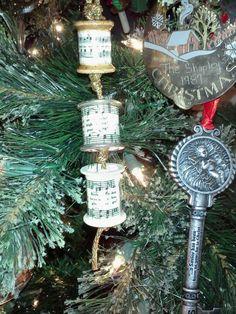 Spools ornament