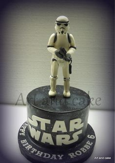 Stormtrooper cake - Cake by marja