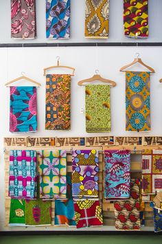 African wax printed fabric   3 Inspiring Areas Of Lisbon To Visit - I Want You To Know