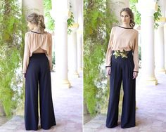 pantalon palazzo by Lola