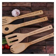 set of wooden bamboo spoons engraved with your very own custom message, saying, scripture, famous quote etc. NO ARTWORK or SETUP CHARGE to provide your own message, each spoon can be engraved differently. Each spoon is 12 long and made for genuine bamboo. Diy Cutting Board, Wood Cutting Boards, Wood Burning Crafts, Wood Crafts, Wooden Spoon Crafts, Dyi Crafts, Wooden Gifts, Diy Wood, Kitchen Utensil Set