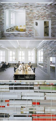 A Wall of Magazines ( AD agency Oktavilla Stockholm ) Office Space Design Creative & 350 best Offices of Advertising Agencies images on Pinterest ...