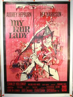 My fair lady movie questions. Is quite different, and more fair for eliza, than the one seen in my fair lady. The question steele references the 1938 movie pygmalion and my fair lady. My Fair Lady, 1960s Movies, Vintage Movies, Vintage Posters, Vintage Art, Audrey Hepburn Movies, Best Picture Winners, Nostalgia, Eliza Doolittle
