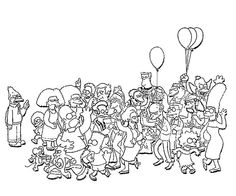 4d913fa4b5126c56ba7a2d02c433f4ef simpsons characters coloring pages