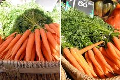 Q: I have been getting wonderful, colorful bunches of carrots from the farmers market. The only problem is storing them. It seem like no matter what I do — in the fridge, on the counter, in a bag, not in a bag, in the veggie drawer — the day after I buy them, they are limp and sad. Help! Sent by Effie