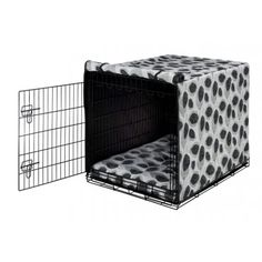 Bowsers Luxury Crate Cover - Morning Mist