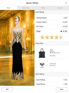 Queen Midas - Covet Fashion 4.50+ rating