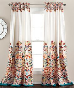 Control light and increase privacy while adding elegance to a room's décor with these beautiful curtains.
