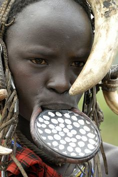Mursi tribe. Photo by rjcassling.