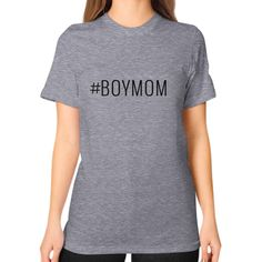#BoyMom Tee Tri-Blend Grey Bea+Sea