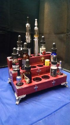 The Blood and the Cross Vape18 Vape Stand/Display