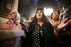 Feast of the Assumption of Mary at Mother See of Holy Etchmiadzin and Grape Blessing Ceremony 8/17/2014
