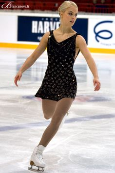One of many Kiira Korpi's competition costumes by Biancaneve
