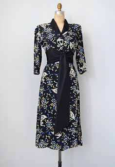 vintage 1930s dress | vintage 30s skirt + blouse ensemble #vintage #1930s