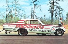 Vintage Motorcycles early Ramchargers Dodge altered wheelbase A/FX Funny Car Funny Car Drag Racing, Nhra Drag Racing, Funny Cars, Auto Racing, Plymouth Cars, American Racing, Old Race Cars, Vintage Race Car, Drag Cars