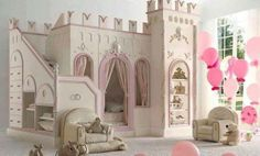 15 Creative and Cool Kids Bedroom Furniture Designs www.A Princess Castle Bed