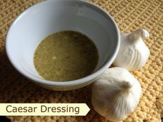 Another non-oil dressing to use with an (E) meal when you want to use your fat for something else.