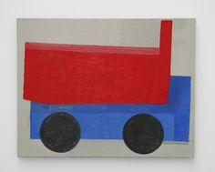 9 Mario De Brabandere - Compositie met houten bouwblokken - 2011 - No. 12 - 55 x 70 cm