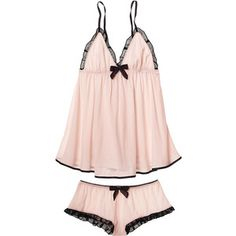 Victoria's Secret Bow-back Babydoll