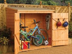 Add a shed in the backyard for extra storage. Buy one prefabricated or DIY on a weekend.
