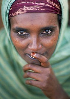 Borana tribe woman - Kenya
