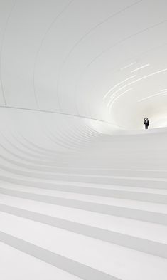 World Architecture Festival an image of the cavernous white interior of Zaha Hadid's Heydar Aliyev Center has been named architectural photograph of the year. Winner: Heydar Aliyev Center by Zaha Hadid - photographed by Hufton and Croft Art Et Architecture, World Architecture Festival, Futuristic Architecture, Amazing Architecture, Contemporary Architecture, Chinese Architecture, Fashion Architecture, Zaha Hadid Architects, Arquitetos Zaha Hadid