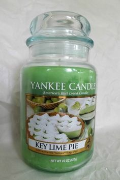 Yankee Candle  key lime pie. #YankeeCandle #MyRelaxingRituals