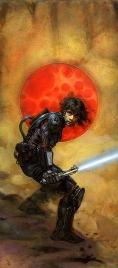 Superb Star Wars Illustrations by Terese Nielsen