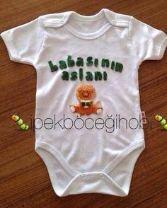 Erkek bebek için tasarım body