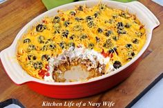 The Kitchen Life of a Navy Wife: Mexican Casserole