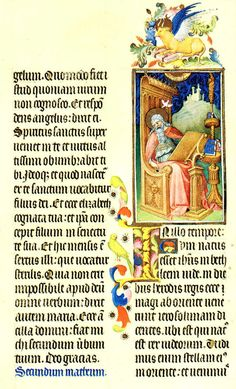 Folio 18r - Saint Luke