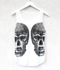 Mirror Skull Tank