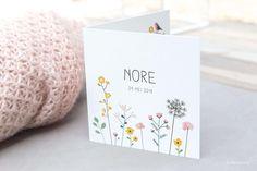 """Van de ouders van Nore hoorde ik dat twee mensen hen een berichtje hadden gestuurd met """"Het is het allermooiste geboortekaartje dat ik ooit…"""