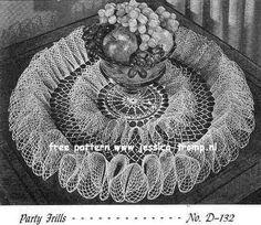 free vintage crochet doilies patterns