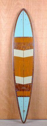"Arbor 46"" Timeless Pin Premium Longboard Deck Bottom"