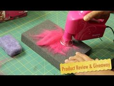Simplicity's Electric Hand Felting Machine- Product Review & Giveaway - YouTube