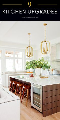 Easy, chic upgrades and additions that will make your kitchen feel instantly more expensive and luxurious.