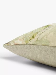 Sanderson Sorilla Cushion, Biscuit at John Lewis & Partners Sanderson Fabric, John Lewis Shops, Cushion Filling, Twenty One, Vintage Floral, Cushions, Contemporary, Biscuit, Leadership