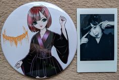 Rei Imaizumi large pin and cheki.