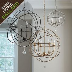 Orb Chandelier from Ballard for 299$ for small one