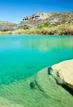 Devil's River near Del Rio, day kayaking & camping trip. This looks amazing Texas Vacations, Vacation Places, Dream Vacations, Places To Travel, Texas Vacation Spots, Family Vacations, Cruise Vacation, Disney Cruise, Travel Destinations