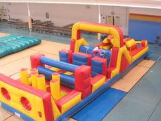 Obstacle Course Chicago Party Rentals